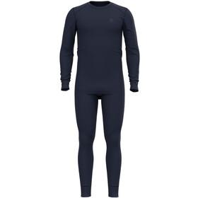 Odlo Active Warm ST Set d'autocollants Homme, diving navy